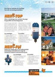 Les avantages Les avantages Pour tous les systèmes de chauffage ...