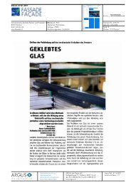 GEKLEBTES - Hochschule für Architektur, Holz und Bau AHB - Berner