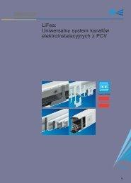 LiFea Uniwersalny system kana∏ów elektroinstalacyjnych z PCV