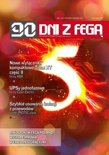 UPSy jednofazowe Nowe wyłączniki kompaktowe Tmax XT część II ...