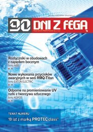 10 lat z marką PROTEC.class - Hurtownia elektryczna Fega Poland ...
