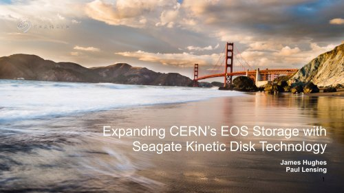 Seagate Kinetic Disk Technology