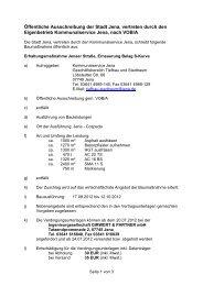 Ausschreibungstext (17.6 KB) - Jena