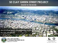 SE CLAY GREEN STREET PROJECT