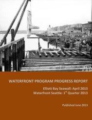 WATERFRONT PROGRAM PROGRESS REPORT
