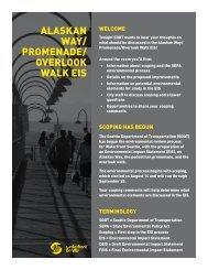 ALASKAN WAY/ PROMENADE/ OVERLOOK WALK EIS