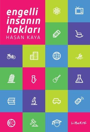 Hasan Kaya Engelli İnsanın Hakları Sayfa Düzeni Liberte Yayınları