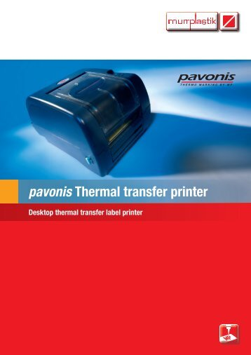 pavonis Thermal transfer printer