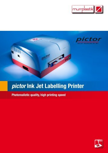 pictor Ink Jet Labelling Printer