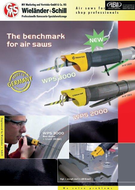 Body saw WPS 3000 pneumatic  PDF