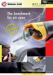 The benchmark for air saws