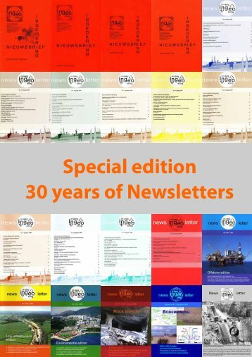 Special edition 30 years of Newsletters