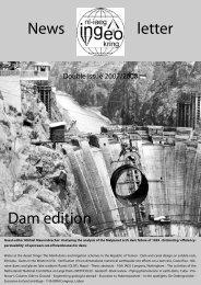 News letter Dam edition