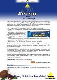 PI Riegel Active Energy Cocos 120913#