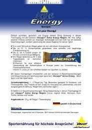 PI Riegel Active Energy Marzipan 100428#