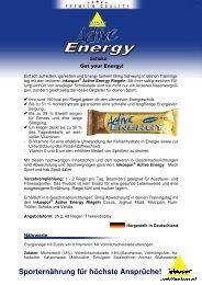 PI Riegel Active Energy Schoko 120913#