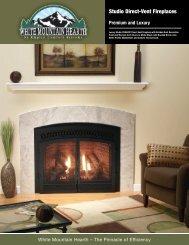 Studio Direct-Vent Fireplaces