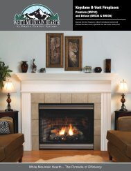 Keystone B-Vent Fireplaces