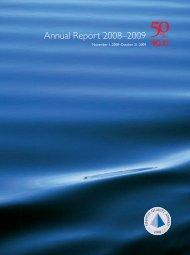 Annual Report 2008–2009