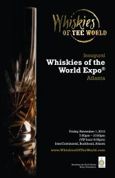 Whiskies of the World Expo