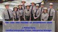 Certified Interpretive Trainer Interpretive Manager