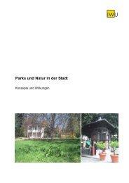"""Expertise """"Parks und Natur in der Stadt. Konzepte - Institut Wohnen ..."""