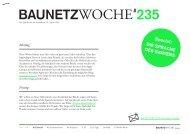 """BauNetzWoche#235 """"Die Sprache des Gartens"""""""