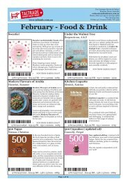 February - Food & Drink