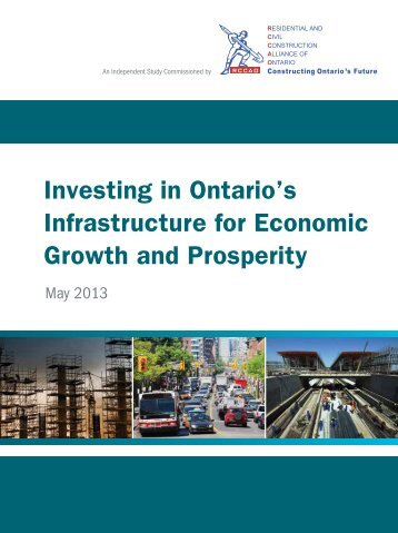 Infrastructure for Economic Growth and Prosperity
