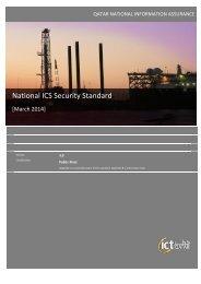 National ICS Security Standard