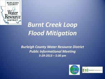 Burnt Creek Loop Flood Mitigation