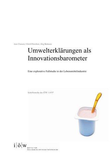 l l. - Institut für ökologische Wirtschaftsforschung