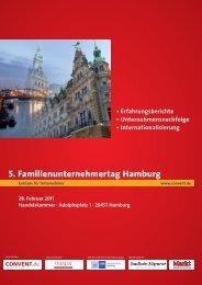 5. Familienunternehmertag Hamburg - IQB Career Services AG