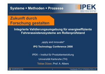 IPEK X-in-the-loop