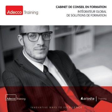 CABINET DE CONSEIL EN FORMATION INTÉGRATEUR GLOBAL DE SOLUTIONS DE FORMATION