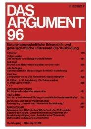 Naturwissenschaftliche Erkenntnis und gesellschaftliche Interessen (II)