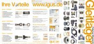 DryLin® N Superflache Miniaturgleitführungen (C-Profil) - Igus