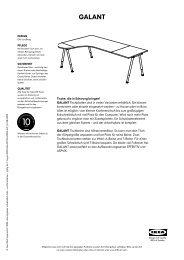 GALANT - Ikea