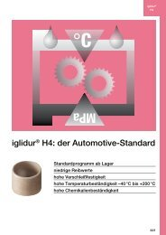 iglidur® H4: der Automotive-Standard - Igus