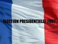 ELECTION PRESIDENTIELLE 2007