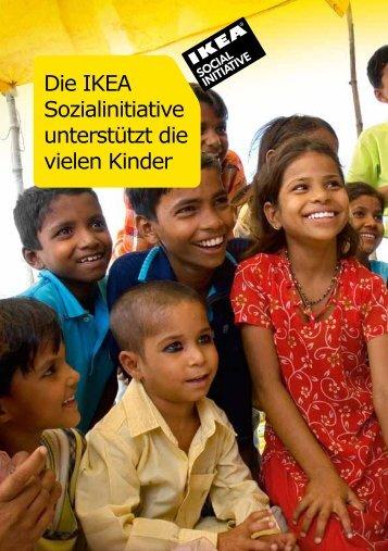 Die IKEA Sozialinitiative  unterstützt die vielen Kinder