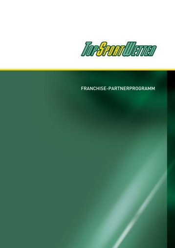 FRANCHISE-PARTNERPROGRAMM