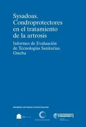 sysadoas condroprotectores en el tratamiento de la artrosis