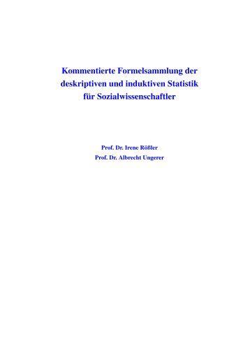 Formelsammlung for Statik formelsammlung