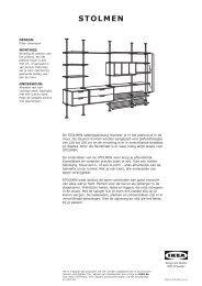 STOLMEN opbergoplossing - Ikea