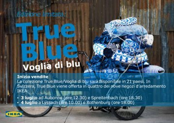 Voglia di blu - Ikea