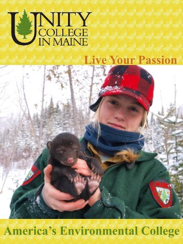 Live Your Passion America's Environmental College