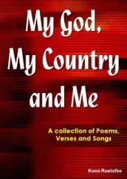 My God, My Country and Me _Preview_x - Zulu Planet Publishers