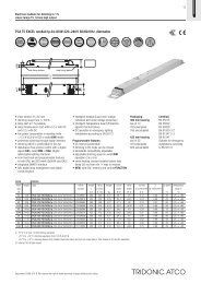PCA T5 EXCEL one4all lp 24-;80 W 220-;240 V 50/60/0 Hz, dimmable