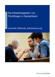 Die Arbeitsintegration von Flüchtlingen in Deutschland